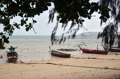 Fishing Boat at Rawai Beach of Phuket Thailand Royalty Free Stock Photography