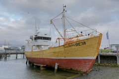 Fishing boat in Reykjavik Stock Photography