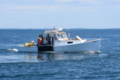Fishing Boat at Rockland, Maine Royalty Free Stock Images