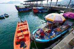 The fishing boat of Sai Kung Stock Image