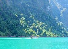 Fishing boat sailing Royalty Free Stock Photo