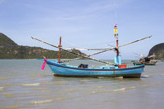 Fishing boat in Sam Roi Yot Royalty Free Stock Images