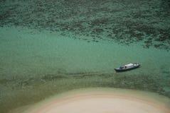 Fishing boat at sea Stock Photo