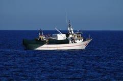 Fishing boat at sea Stock Photography