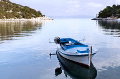 Fishing boat and sea Royalty Free Stock Photography