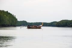 Fishing boat on sea Stock Image