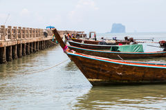 Fishing boat on sea Royalty Free Stock Image