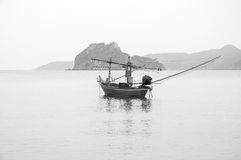 Fishing Boat at the Sea Coast, Thailand Stock Images
