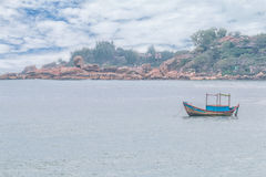 Fishing boat on the sea Royalty Free Stock Photography
