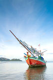 Fishing boat on the sea. Stock Photography