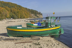 Fishing boat on the sea Royalty Free Stock Image