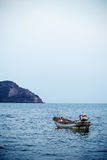 Fishing boat on the sea, thailand Royalty Free Stock Photography