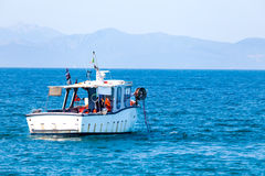 Fishing Boat In The Sea Royalty Free Stock Photography