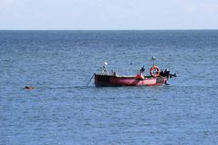 Fishing Boat at Selsey. Sussex. UK Royalty Free Stock Photography
