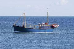 Fishing Boat at Selsey. Sussex. UK Royalty Free Stock Photos