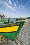 Fishing boat on the seside Royalty Free Stock Photo