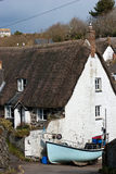Cadgwith Cove Cottages Cornwall Royalty Free Stock Photography