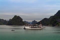 Fishing Boat and Ship. Royalty Free Stock Photos