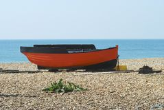 Fishing boat at Shoreham. Sussex. UK Stock Photo