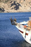 Fishing boat. Small fishing boat in the Greek island of Crete Royalty Free Stock Image