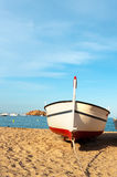 Fishing boat at the Spanish coast Royalty Free Stock Image