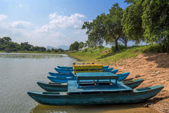 Fishing boat on Sri-Lanka Stock Images