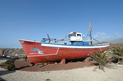 Fishing boat in Tenerife Stock Photography