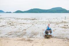 Fishing boat of thai fishermen Stock Images