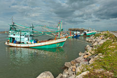 Fishing boat in Thailand Royalty Free Stock Photos