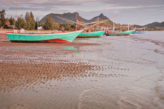 Fishing boat , Thailand. Fishing boat on the beach, Thailand Royalty Free Stock Image