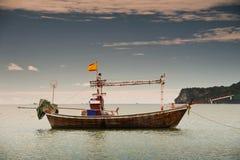 Fishing boat , Thailand. Fishing boat on the beach, Thailand Royalty Free Stock Photo