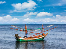 Fishing boat in Thailand Asia Royalty Free Stock Photos