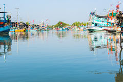 Fishing boat in Thailand Stock Photo