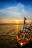 Fishing boat in Thailand Stock Images