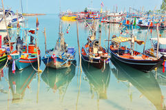 Fishing boat in Thailand Stock Photos