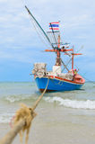 Fishing boat. royalty free stock photo