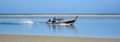 Fishing boat, Thailand. Fishing boat on the island of Koh Lanta, Thailand Stock Photos