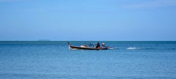 Fishing boat, Thailand. Fishing boat on the island of Koh Lanta, Thailand Stock Images