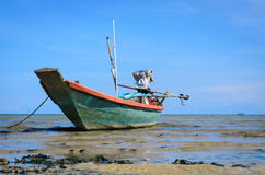 The fishing boat at Thailand Royalty Free Stock Image