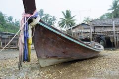 Fishing boat traditional Thailand Royalty Free Stock Photography