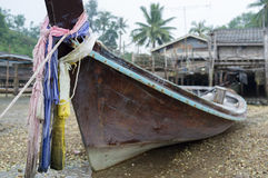 Fishing boat traditional Thailand Royalty Free Stock Photo