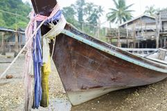 Fishing boat traditional Thailand Stock Image
