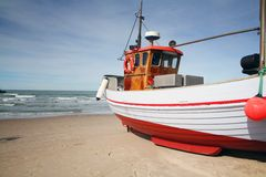Fishing boat trawler Stock Photos