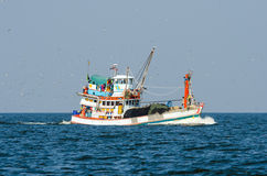 Fishing boat trawler. Royalty Free Stock Photo