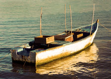 Fishing Boat under Soft Light Royalty Free Stock Photography