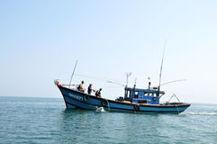 Fishing boat in Vietnam Royalty Free Stock Images