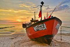 Fishing boat view Stock Photography