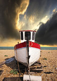 Fishing boat in waiting Stock Images
