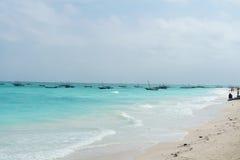 Fishing boat in Zanzibar Stock Photos
