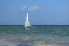 Fishing boat in Zanzibar Stock Photography